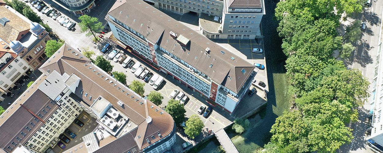 Sprachschule mitten in Zürich